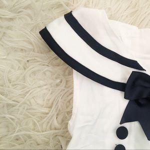 Rare, Too! Dresses - Vintage Infant Sailor Inspired Dress